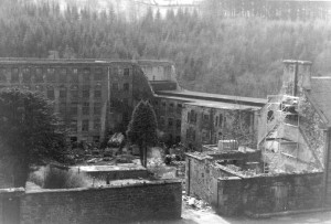 R. Pollack, Dereliction at New Lanark in 1983