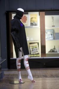 Adele Patrick, Self Defence garments (1986), Studio 58 (2012)