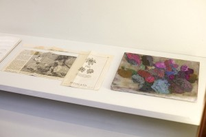 Cathy Wilkes, Untitled Drawings and paintings (2012), installation view, Studio 58 (2012)