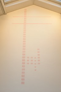 Richard Wright, No Title (2009) on display in Votive (2009)