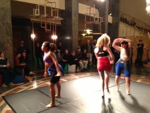 Ashanti Harris, Julia Scott and Romany Dear perform at The Glasgow Weekend (2013)
