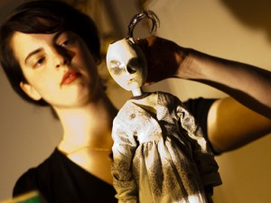 Shelly Nadashi performing Affectionate, Still (2010) at Urlibido (2010)